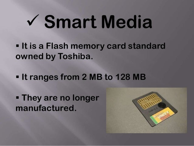  Secure Digital Card (SD card) Secure Digital card is basically the second generation Multi Media Card  They are exactl...