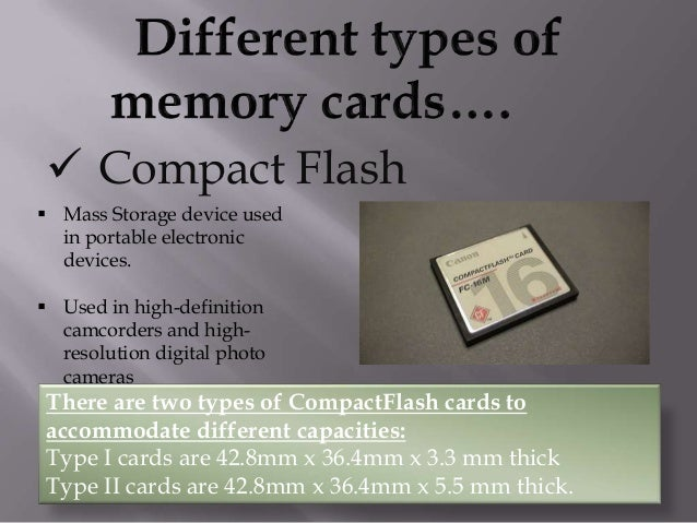  Memory Stick  Memory Stick is a removable flash memory card format.  Memory Sticks are used as storage media for a por...