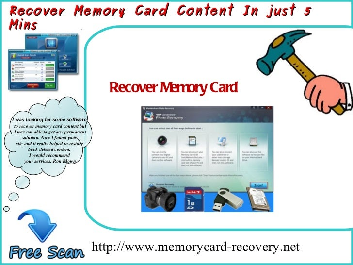 How To Remove http://www.memorycard-recovery.net Recover Memory Card Recover Memory Card Content In just 5 Mins I was look...