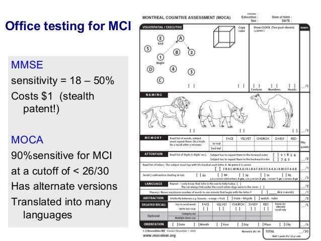 montreal cognitive assessment moca pdf