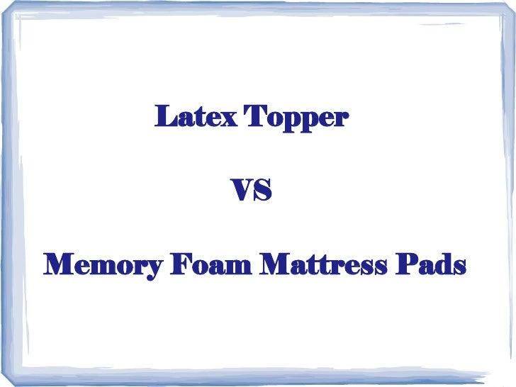 Latex Mattress Natural Vs Synthetic