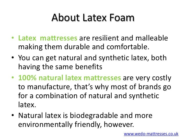 Memory Foam Mattress or Latex Foam Mattress?
