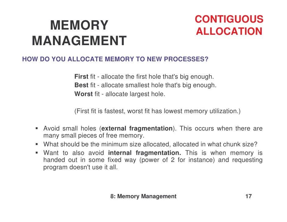non contiguous memory allocation pdf