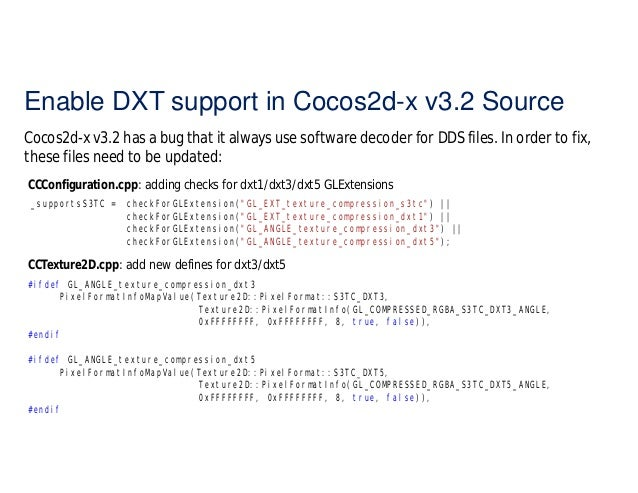 Memory Optimization in Cocos2d-x WP8 using Compressed Textures