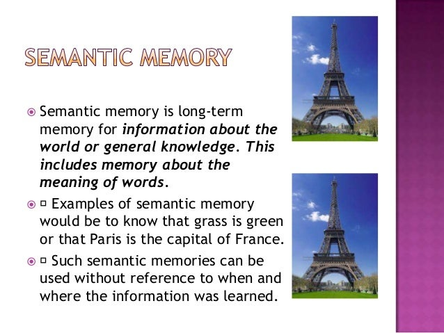 Memory Psychology Powerpoint