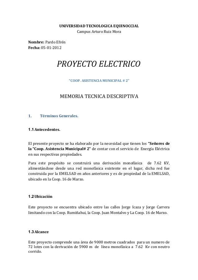 UNIVERSIDAD TECNOLOGICA EQUINOCCIAL                         Campus Arturo Ruiz MoraNombre: Pardo EfrénFecha: 05-01-2012   ...