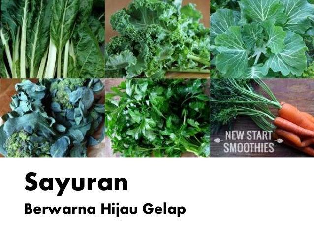 Sayuran Berwarna Hijau Gelap