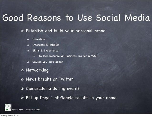 social media  u0026 personal branding tips for high school students
