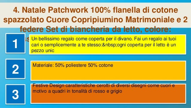 Parure Copripiumino Natalizia Grigio//Multicolore Grey con Copripiumino e 2 federe Motivo: Fiocchi di Neve Doppio Cotone 100/% Flanella di Cotone