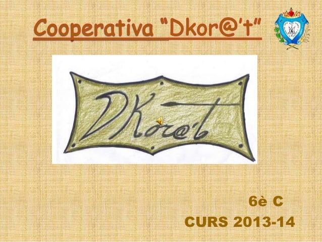 6è C CURS 2013-14
