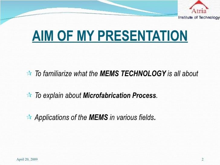 Mems (Detail Presentation) Slide 2