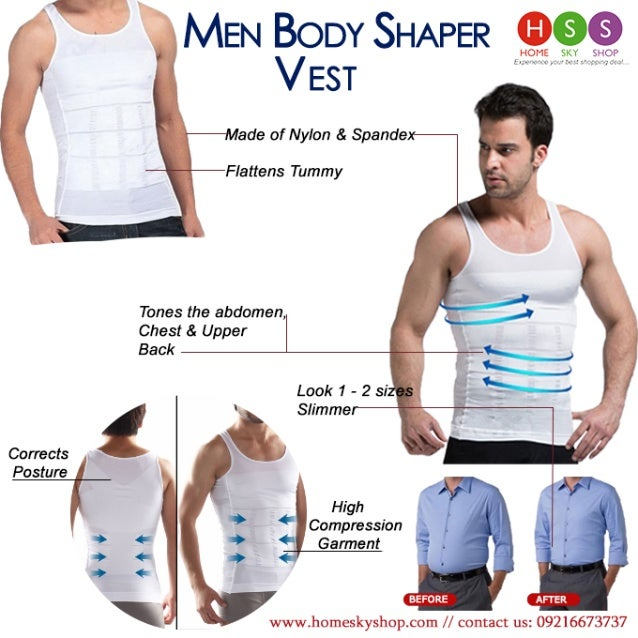 a660f6a4fcd12 Slimming Vest- Perfect Body Shaper For Men