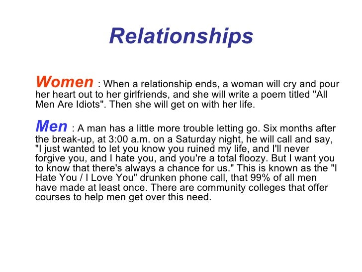 Needs Of A Woman In A Relationship