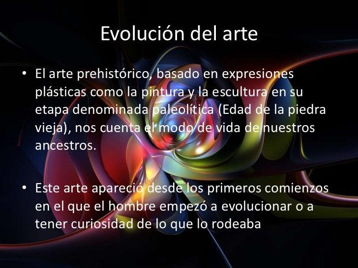 Evolucion e Historia del Arte - photo#34
