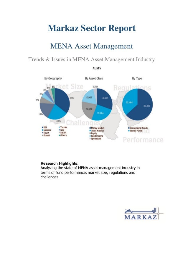 Markaz Sector Report MENA Asset Management Trends & Issues in MENA Asset Management Industry  Research Highlights: Analyzi...
