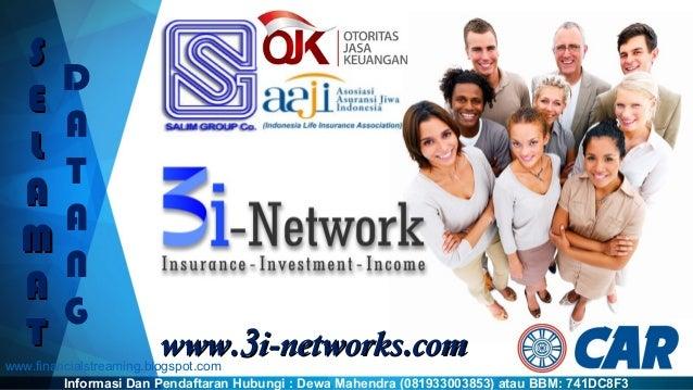 www.www.33i-networks.i-networks.comcom SS EE LL AA MM AA TT D A T A N G Informasi Dan Pendaftaran Hubungi : Dewa Mahendra ...