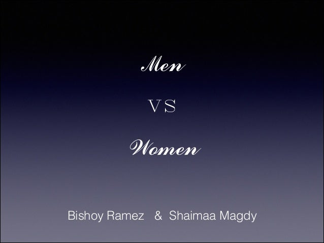 Men vs Women Bishoy Ramez & Shaimaa Magdy