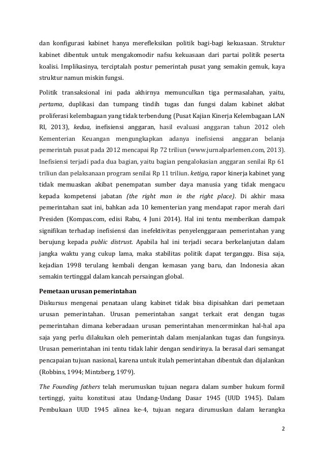 Menata ulang kabinet 2014  2019 ichwan 2014