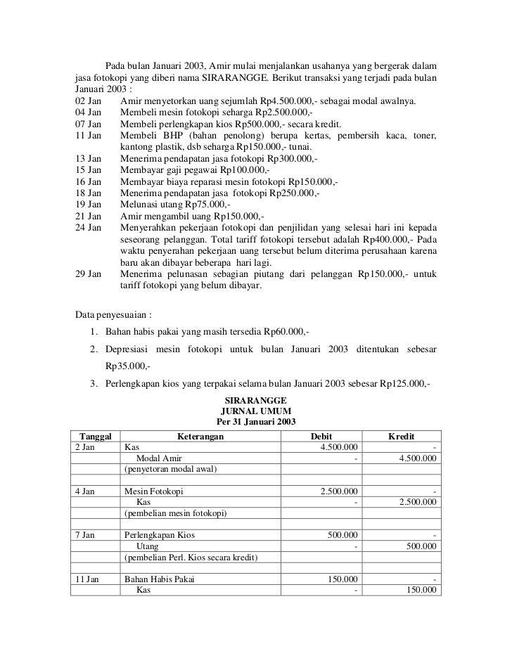 Mencatat Jurnal Umum Di Dec Easy Accounting 4
