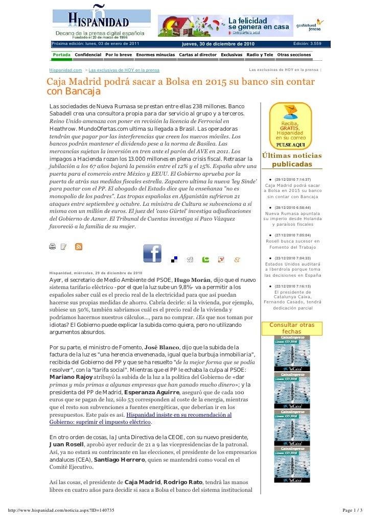 Mención  MundoOfertas Muestras Gratis en Hispanidad.com  301210
