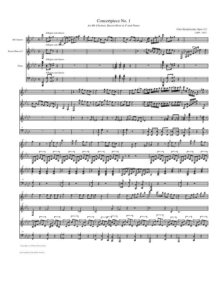 Concertpiece No. 1                                                                                                        ...