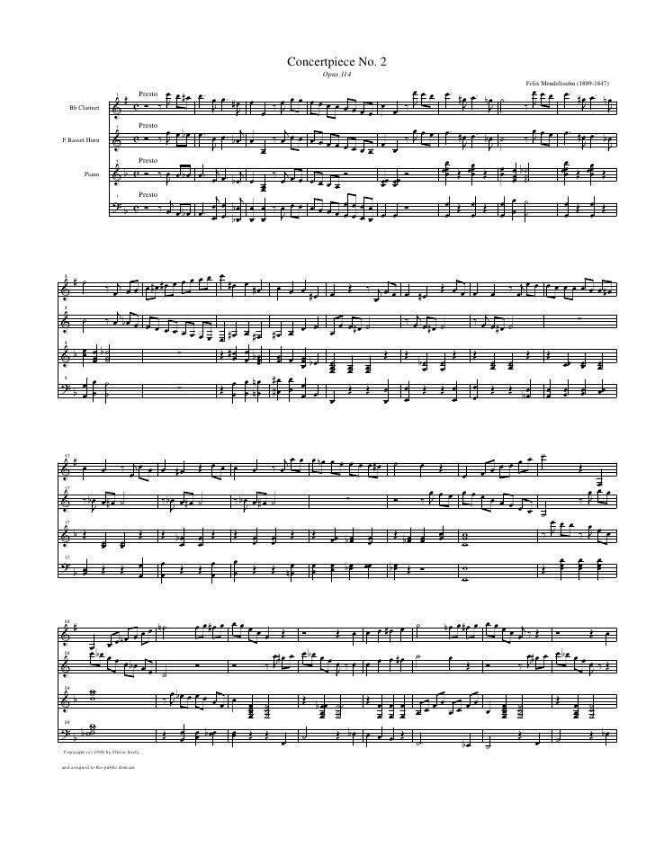 Concertpiece No. 2                                                                                  Opus 114              ...