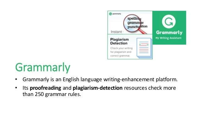 plagiarism detector grammarly