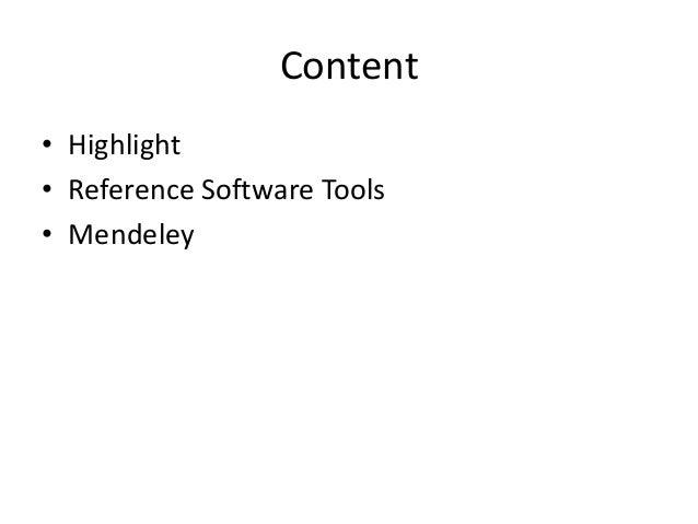 Mendeley Teaching Presentation Slide 2