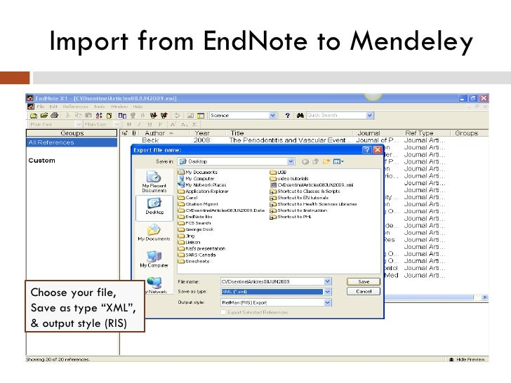 how to add ris file to endnote