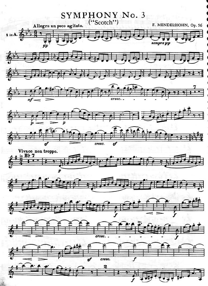 Mendelssohn   escocesa