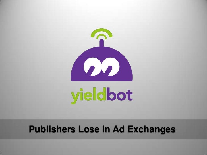 Publishers Lose in Ad Exchanges