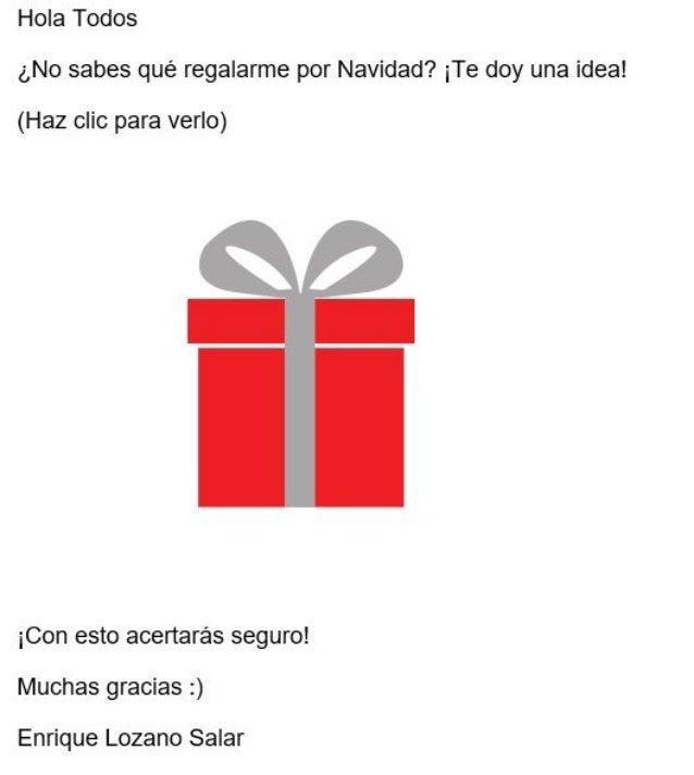 Hola Todos ¿No sabes qué regalarme por Navidad?  ¡Te doy una idea!   (Haz clic para verlo)     ¡Con esto acertarás seguro!...