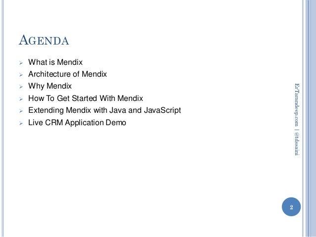 Mendix - Cloud PAAS App Platform Slide 2