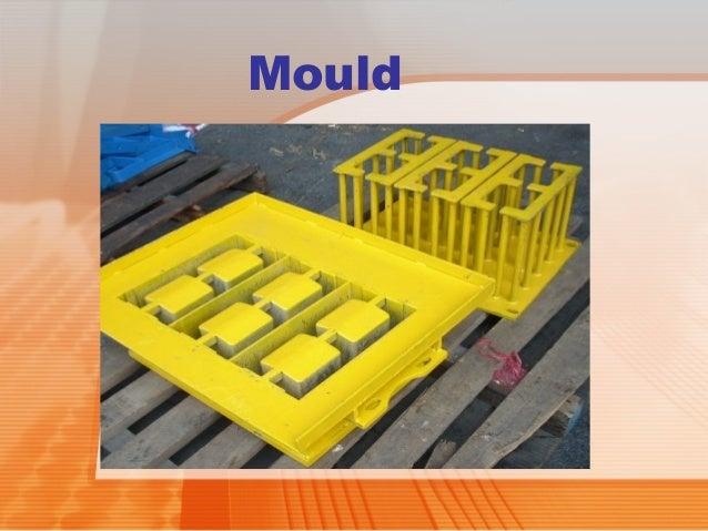 Mortar And Concrete Hollow Blocks