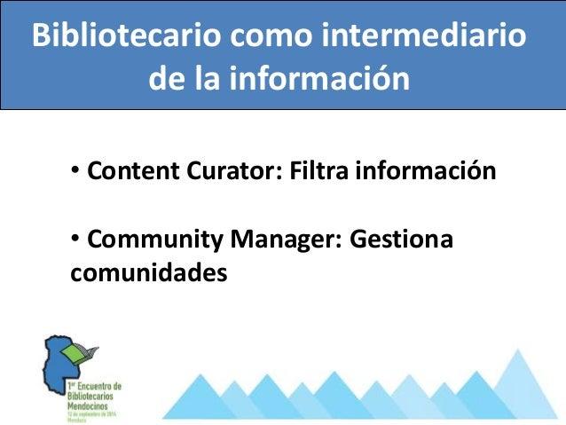 Bibliotecario creador de comunidades de aprendizajes en línea