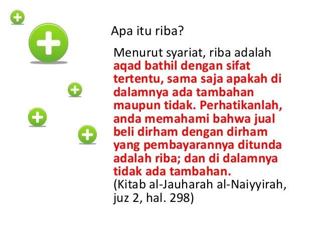 """""""Jika seseorang menghutangkan uang kepada orang lain, janganlah ia menerima hadiah (darinya)."""" (HR Bukhari)"""