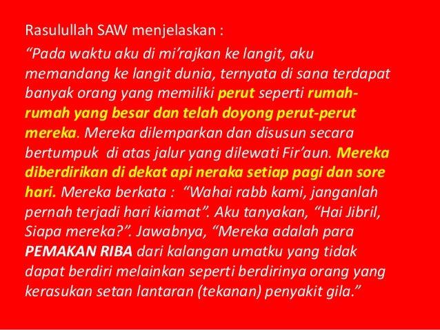 """Rasulullah SAW menjelaskan : """"Pada waktu aku di Isra'kan, tatkala kami telah sampai ke langit ke tujuh, aku melihat ke ara..."""