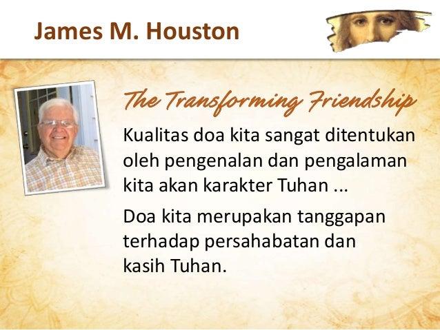 kita tidak mungkin dapat dengan sepenuh hati mencintai & mempercayai Dia menaati & melayani Dia memuji & menyembah Dia KEU...