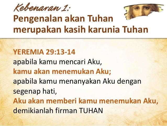 Pengenalan akan Tuhan mencakup hikmat/pengertian rohani Tuhan menulis sebuah buku! Halaman demi halaman yang berisi penyat...