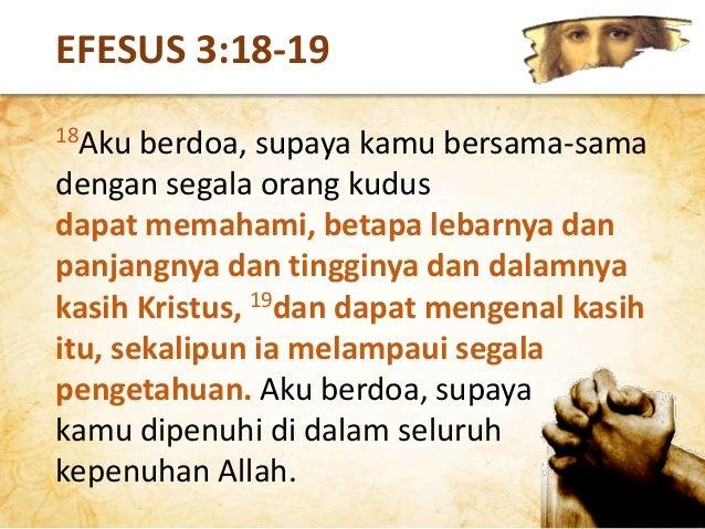 Di manakah letak keutamaan dari pengenalan akan Tuhan dalam hidup orang percaya? KEUTAMAAN MENGENAL TUHAN