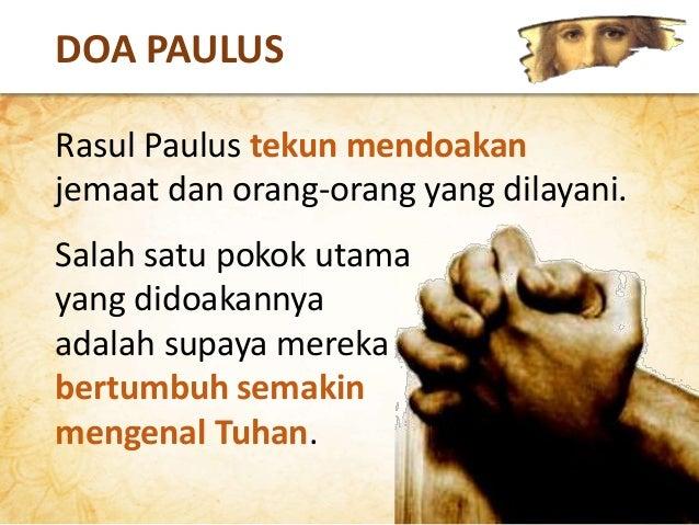PETRUS 2 PETRUS 1:2-3 Kasih karunia dan damai sejahtera melimpahi kamu oleh pengenalan akan Allah dan akan Yesus, Tuhan ki...