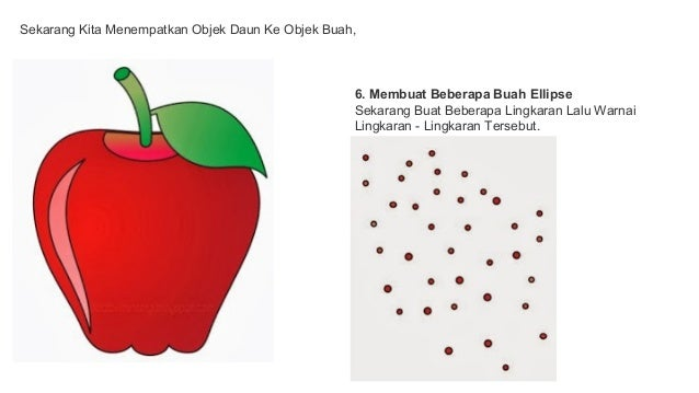 Menggambar Apel Dengan Corel Draw