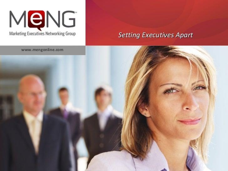 Setting Executives Apartwww.mengonline.com