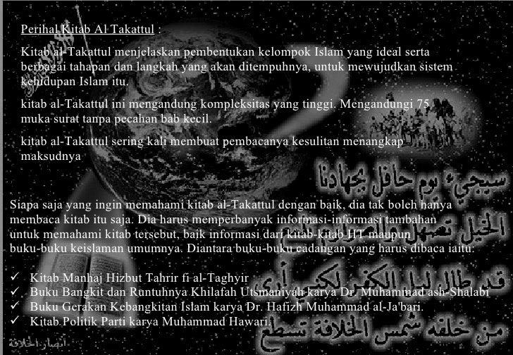 Mengkaji Kitab Al Takattul Al Hizbiy Slide 3