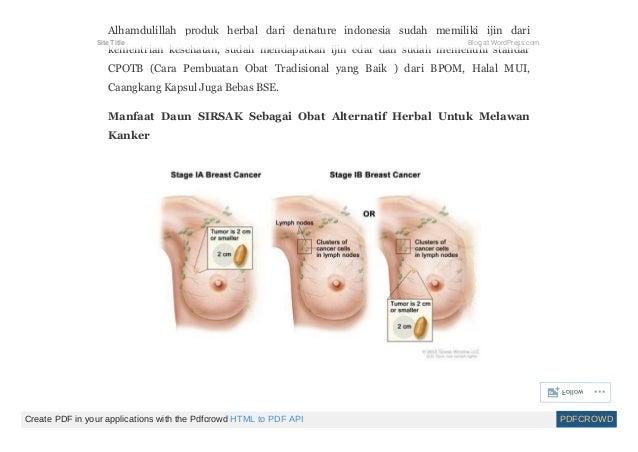 Mengobati kanker payudara stadium 4
