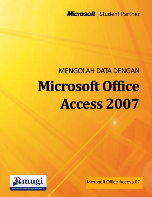 Microsoft Office Access 07