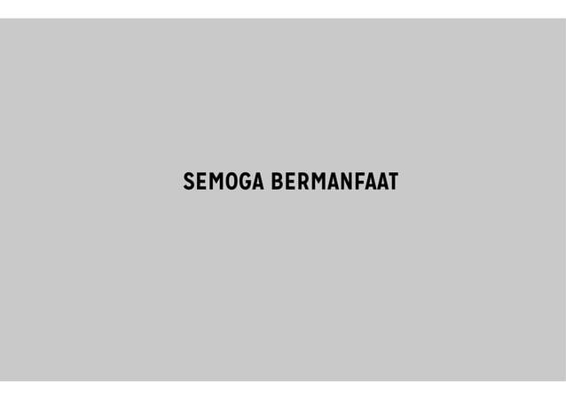 SEMOGA BERMANFAATSEMOGA BERMANFAAT