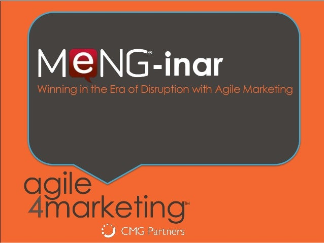 -inar Winning in the Era of Disruption with Agile Marketing