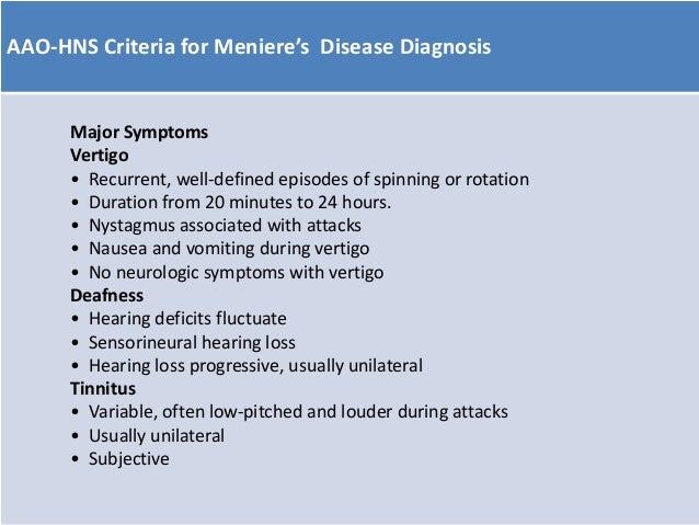 menieres disease treatment exercises
