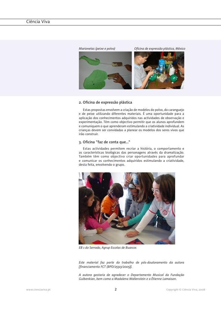 """""""A menina do mar"""" - Ficha Pedagógica nº1 """"Orientações pedagógicas""""  Slide 2"""
